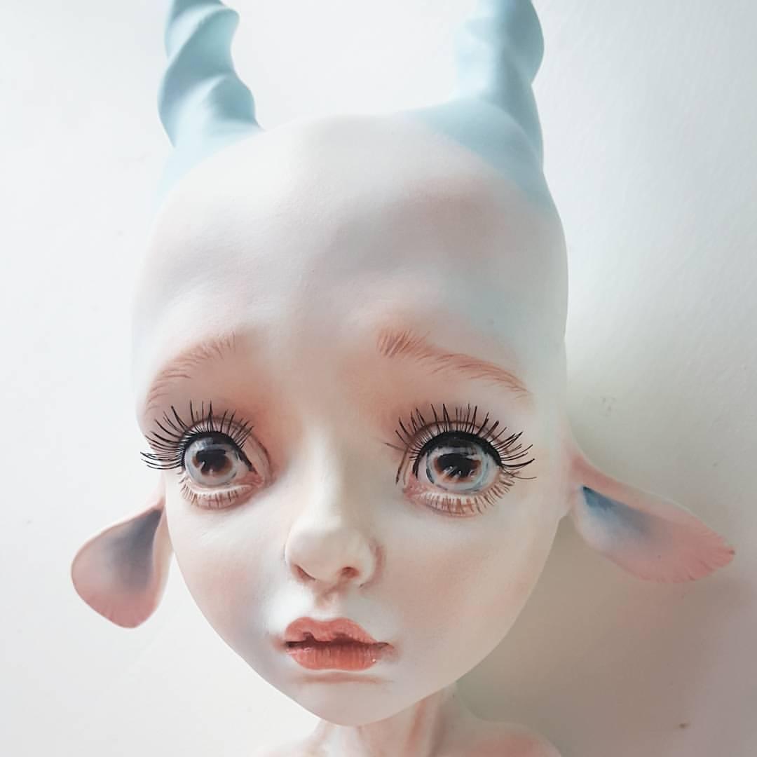 Erica Borghstijn – Art dolls sculpture