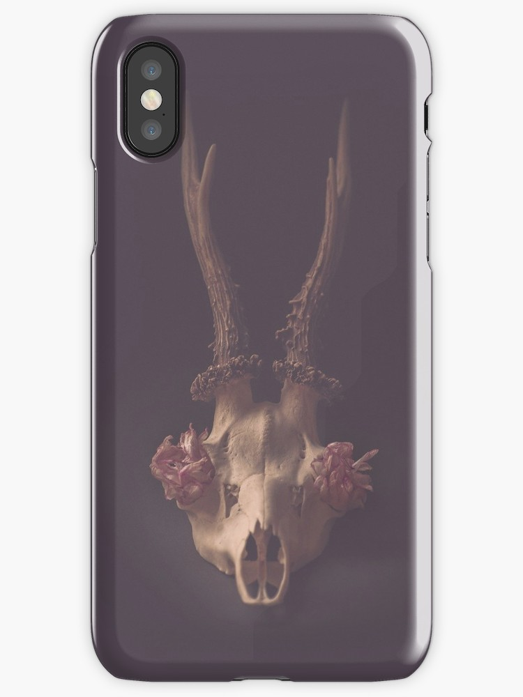 deer skull iphone samsung skins society6