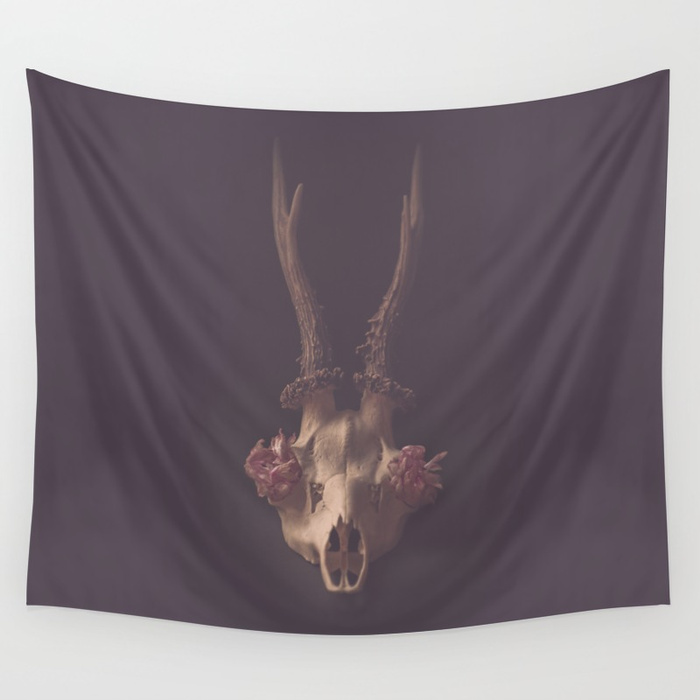 deer skull – wall tapestries