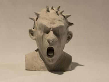 """Fernando Rosas – Sculptor """"Herejía"""""""