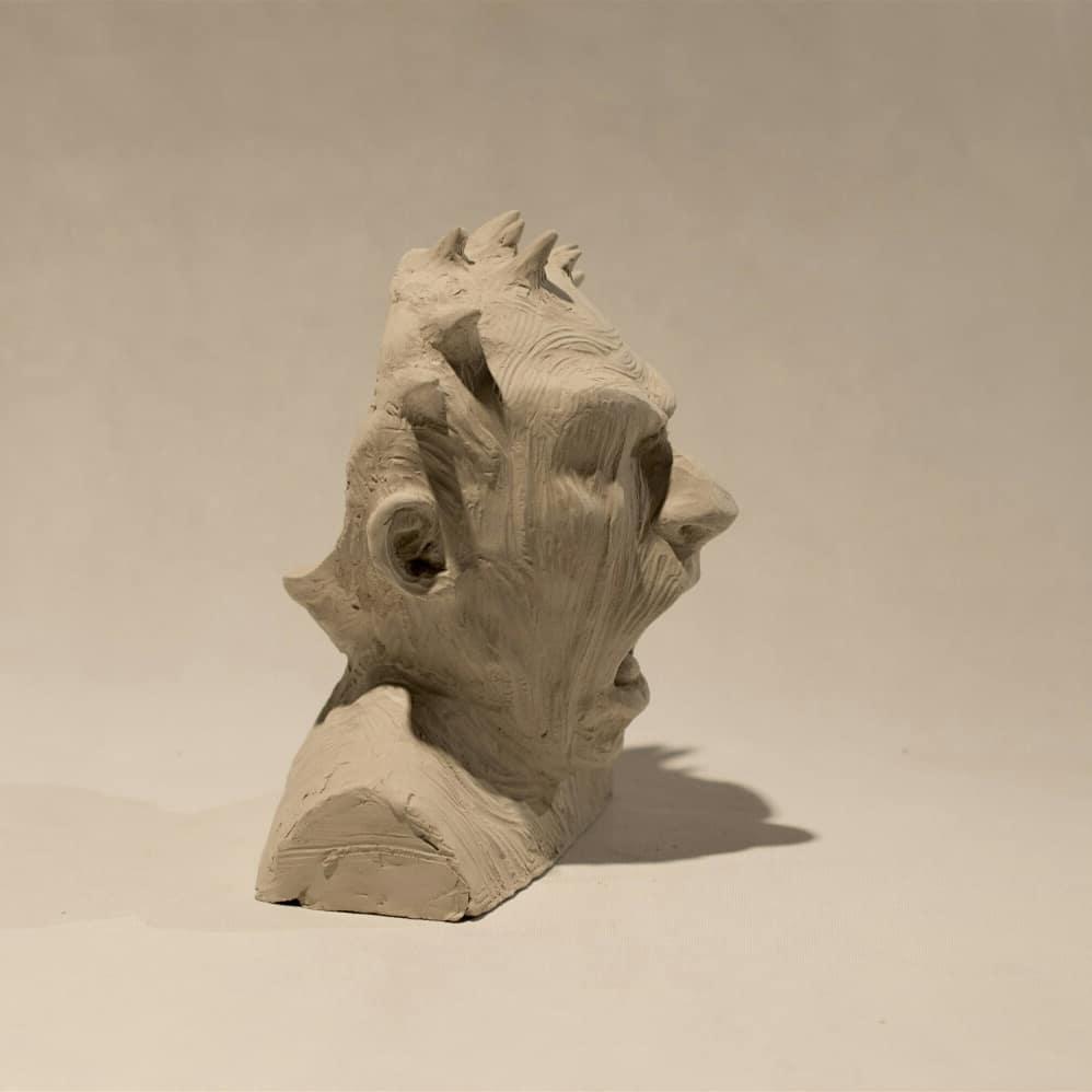 """Fernando Rosas – Sculpture """"Herejía"""""""