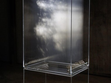Data by David Spriggs – Painted layered transparent sheets