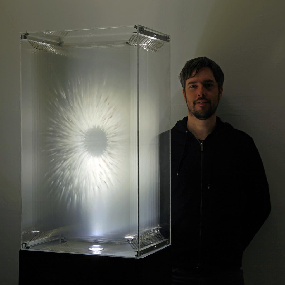 Retina with the artist David Spriggs
