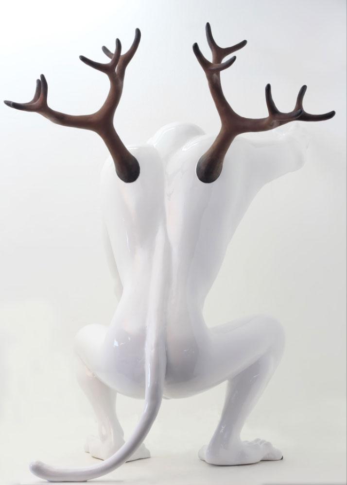 Mono Cieza Sculptor, Para encontrar el camino II, 2018