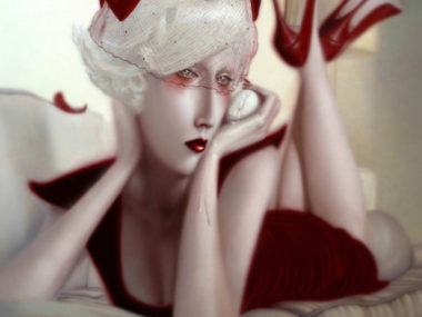 Troy Brooks, Between The boys and the Bees, painting oil