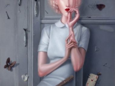 Troy Brooks, Gravity Of Regret – Oil on canvas