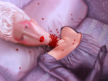 Troy Brooks, Love bugs – Oil on canvas