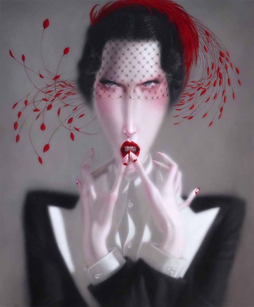 Troy Brooks, Mother Goddamn – oil on canvas