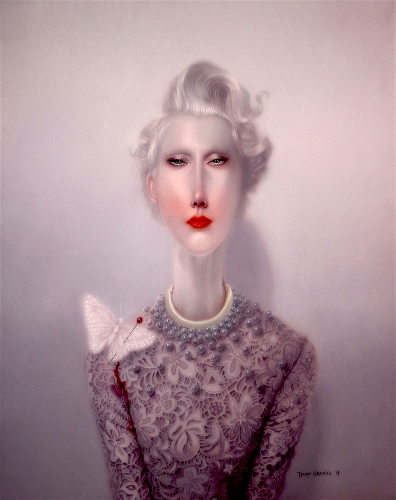 Troy Brooks, Sacrifice – Oil on canvas