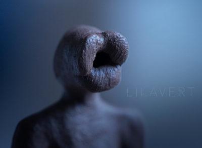 "Sculpture figurative ""Fleur"" lips – ©LilaVert"