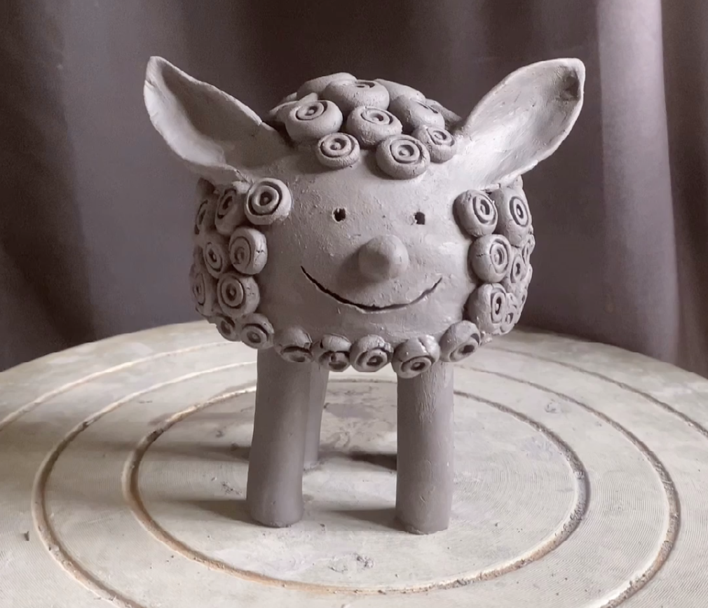 Tutorial Sculpture mouton argile