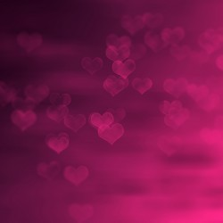 Hearts background texture