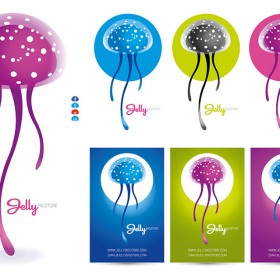 JellyFish Logo preview vector template