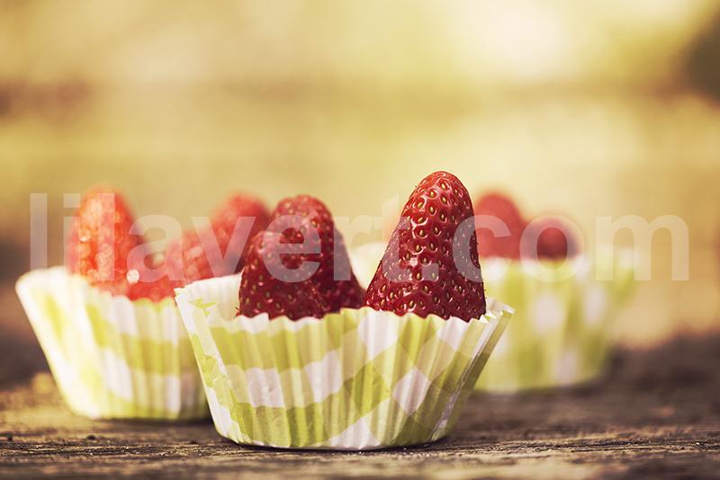 fraise stock image