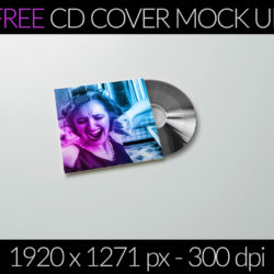 FREE CD Cover mock-up