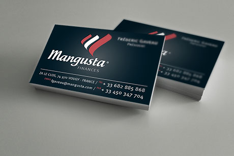 Mangusta Finances - Carte de vistie
