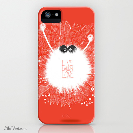 Live, Laugh, LOVE… Iphone case